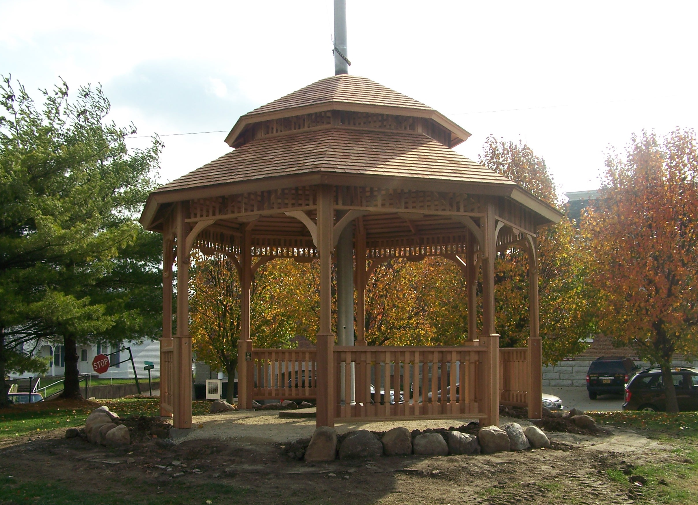 In 2011 A Beautiful Gazebo Was Constructed On The Franklin County Courthouse Lawn Recognition Of Countys Bicentennial Celebration